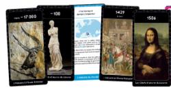 """Cartes pour mémoriser les """"repères"""" d'Histoire."""