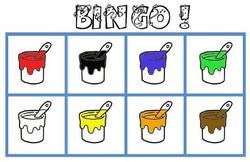 Loto Bingo des couleurs
