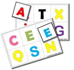 Un loto des lettres et des couleurs pour l'anglais