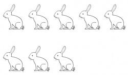 jeu lapin numération