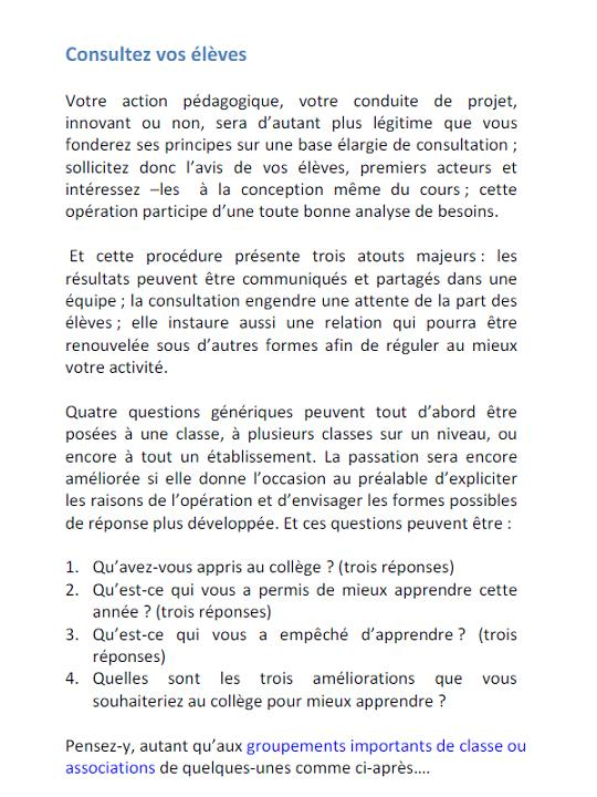 Evaluation Chroniques En Innovation Et En Formation