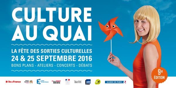 Culture au quai 2016